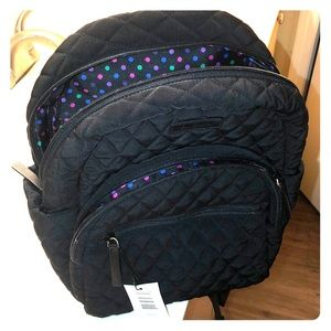 Vera Bradley Black Backpack